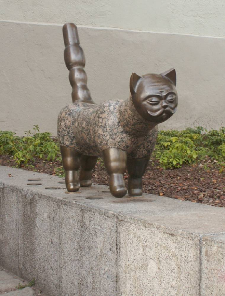 Ką pasakoja senamiesčio katinas?