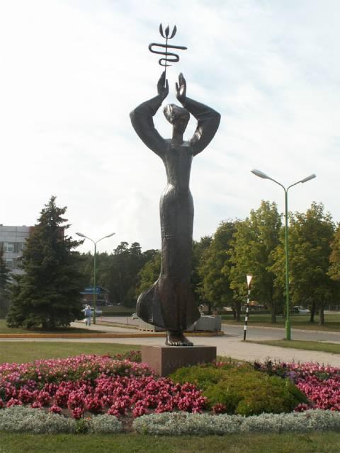 "Skulptūra ""Ave, vita"""