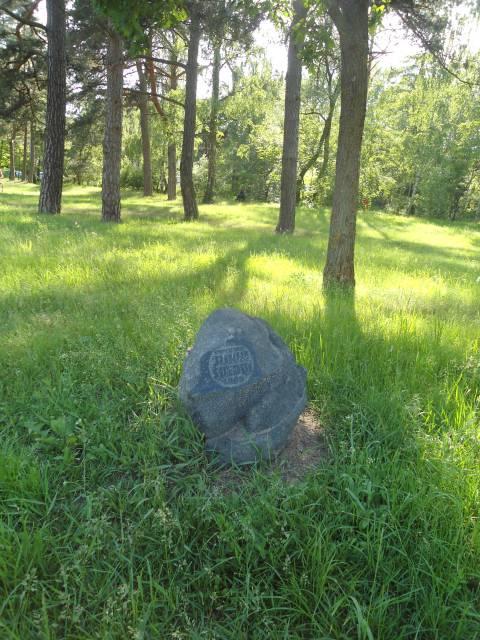 Jubiliejinis akmuo kompozitoriui Jonui Švedui