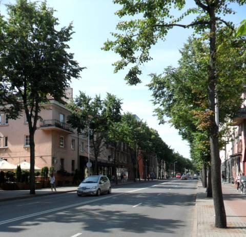 Herkaus Manto gatvės vaizdas