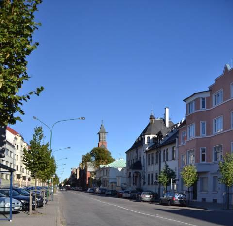 Liepų gatvės vaizdas