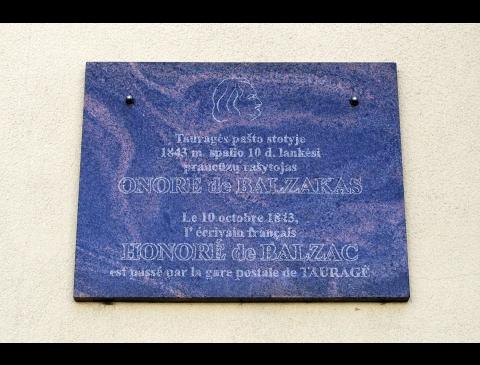 Žymių žmonių atminties ženklai Tauragėje