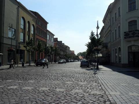 Turgaus gatvės vaizdas