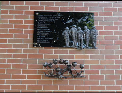 Atminimo lenta klaipėdiečiams, negrįžusiems iš SSRS-Afganistano karo