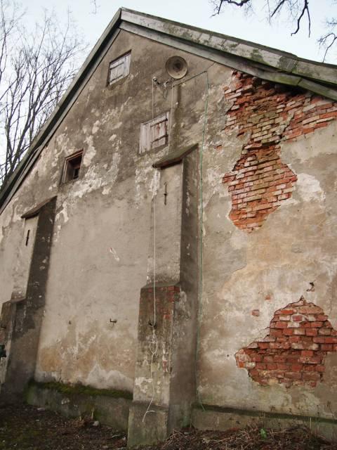 Bachmano dvaro seniausias ūkinis pastatas