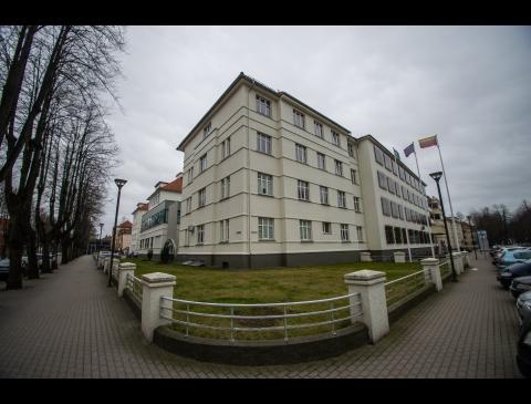 Respublikinės Klaipėdos ligoninės pastatas