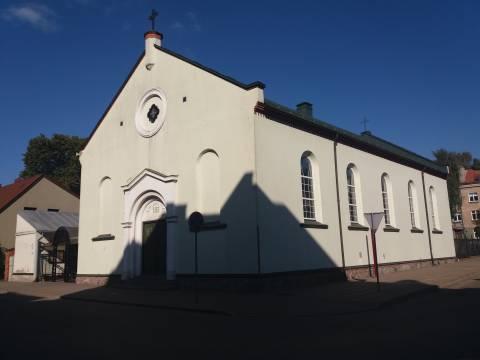 Клайпедская ирвингианская церковь (нынешний католический костел Короля Христа)