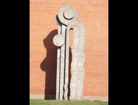 Скульптура «Юрате и Каститис»