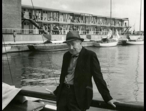 Salys Šemerys prie jachtklubo