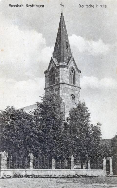 Kretingos evangelikų liuteronų bažnyčia I-ojo pasaulinio karo metais