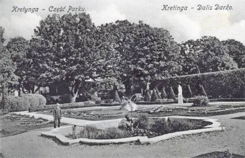 Kretingos dvaro parko fontanai (II)