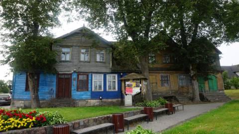 NKVD-MVD ir milicijos Darbėnų valsčiaus poskyrio pastatas