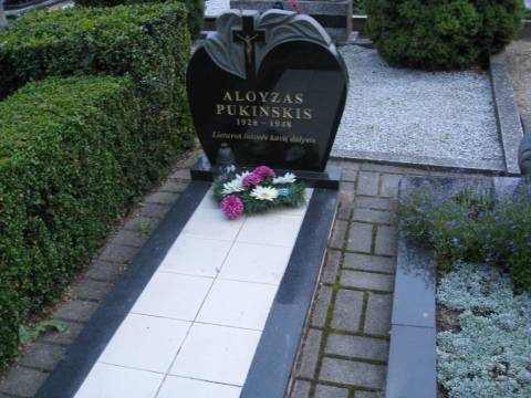 Partizano Aloyzo Pukinsko kapas