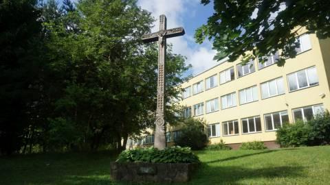 Kryžius 1944–1953 m. Kretingos apylinkėse žuvusiems Žemaičių apygardos Kardo rinktinės partizanams atminti