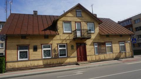 Kretingos apskrities milicijos skyriaus ir areštinės pastatas
