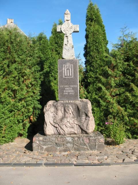 Pasipriešinimo sovietinei okupacijai atminimo ženklai Salantų apylinkėse