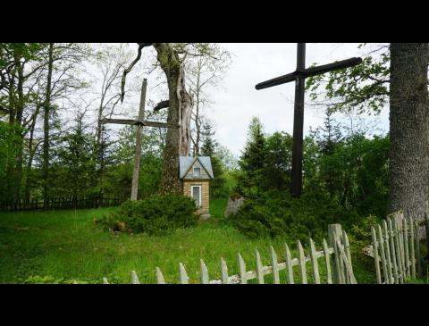 Gargždupio k. senosios kapinės