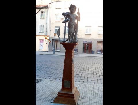 """Skulptūra """"Laukinis vyras"""""""