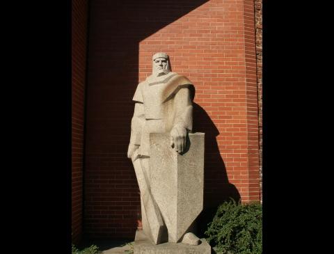 Monument to Herkus Mantas