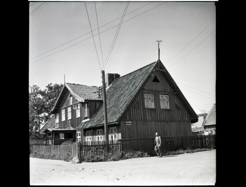 The Building on Baltikalnio Street 12
