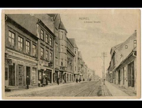 Memel : Libauer Straße