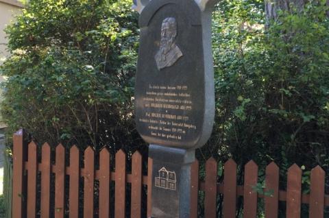 Monument to Adalbert Bezzenberger