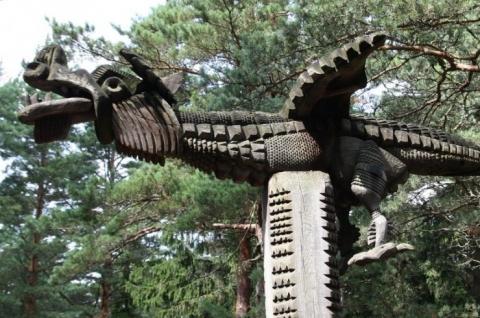 Wooden Sculptures Exposition