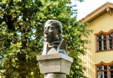 Monument to Liudvikas Rėza