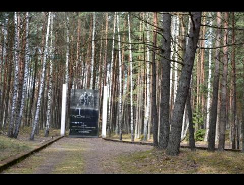 """Pagėgių koncentracijos stovykla, Buchenvaldo filialo """"Oflager- 53"""" memorialinis kompleksas"""
