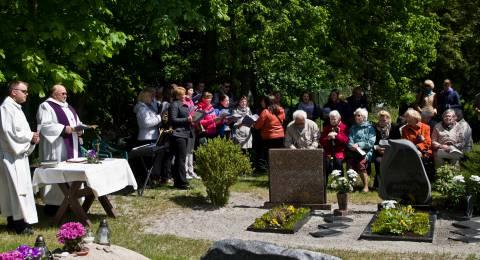 Evangelikų - liuteronų kapinių šventė
