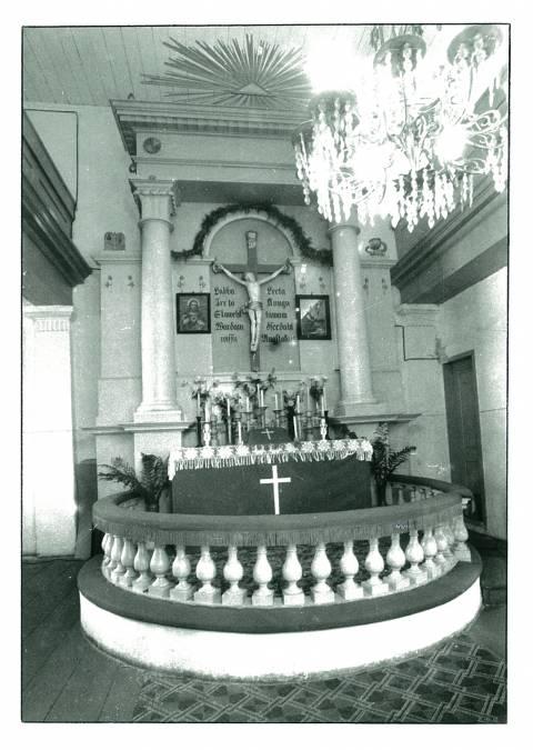Būtingės evangelikų liuteronų bažnyčios (1824) centrinis altorius