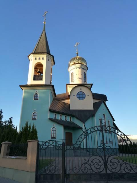 Palangos Iveros Dievo Motinos ikonos cerkvė