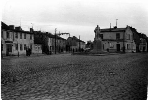Paminklas Stalinui Minijos ir Nemuno gatvių sankirtoje