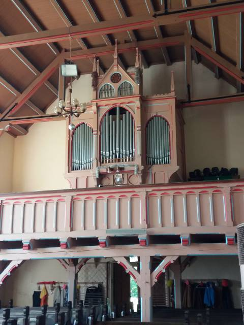 Plikių liuteronų bažnyčios vargonai