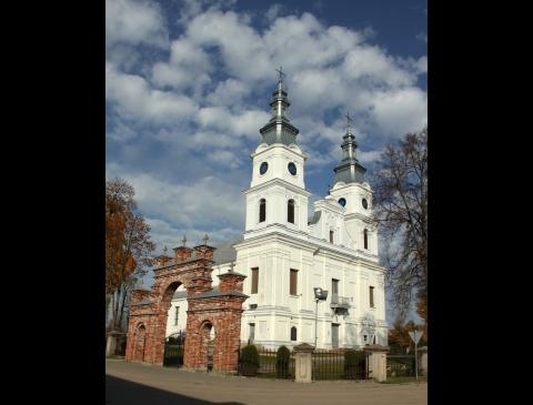 Basilika des Besuchs der Hl. Jungfrau Maria in Žemaičių Kalvarija