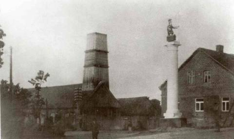 Senoji Plungės gaisrinė laisvės alėjoje