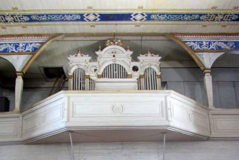 Platelių bažnyčios vargonai