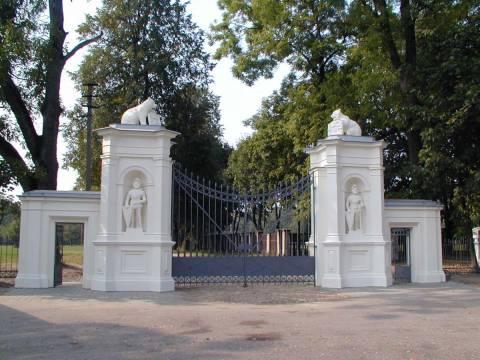 Der Park von Plungė