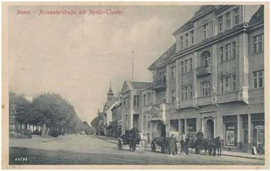 Alexanderstraβe mit Apollo-Theater
