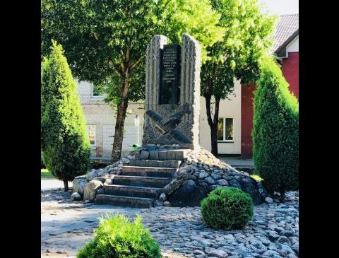 Памятник лётчикам С. Дарюсу и С. Гиренасу