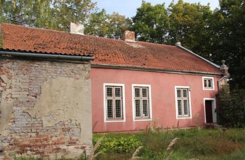 Pastatas Lietuvininkų g. 36 iš kiemo pusės