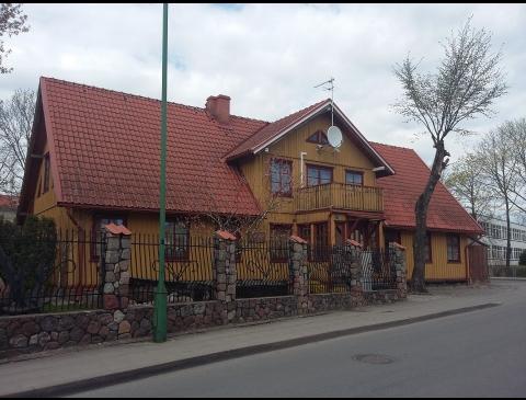 Namas, kuriame gyveno I. Simonaitytė