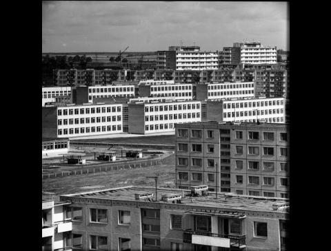"""Ketvirtasis (Baltijos) gyvenamasis rajonas ir """"Pempininkų"""" visuomeninis centras"""