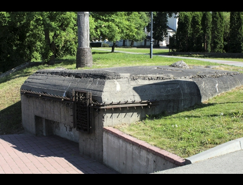 Defensive fortification – the pillbox