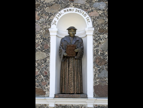 Skulptūra Martynui Liuteriui