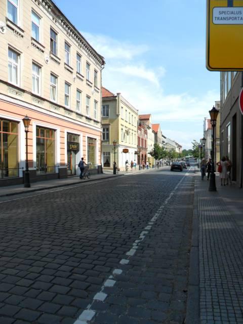 Tiltų gatvės vaizdas