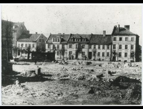 Buvusios miesto šv. Jono bažnyčios bokšto vieta