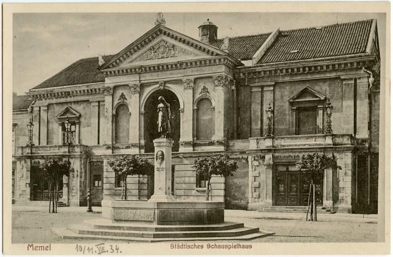 Memel Staedtisches Schauspielhaus