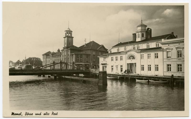 Memel, Boerse und alte Post