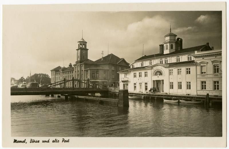 Memel, Börse und alte Post